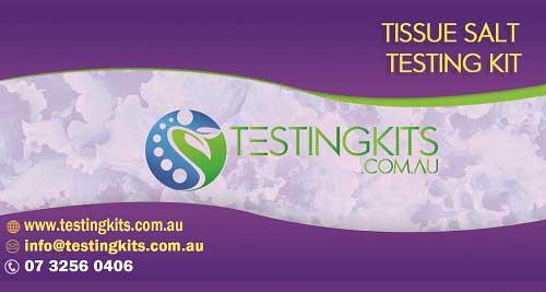 salt test kit for tissue