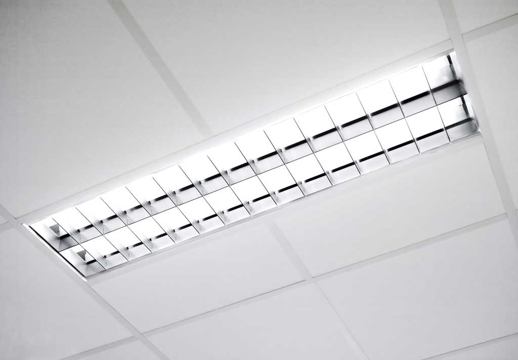 What are the dangers of fluorescent lights?